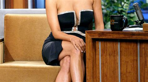 Halle Berry Shows Crazy Cleavage in Super Low-Cut Dress on