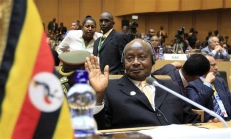 Ugandan president on the science of why gay sex must be