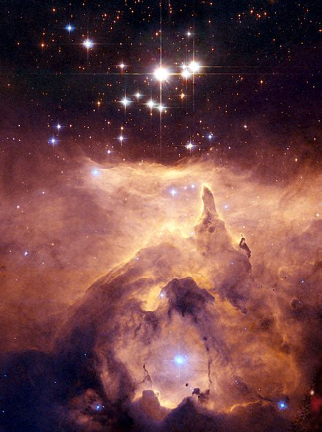 Heavenly inferno: Hubble space telescope pictures from