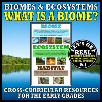 What Is a BIOME? by LET'S GET REAL | Teachers Pay Teachers