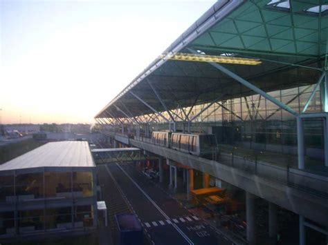 Stansted Airport London, Essex Building, Architect - e