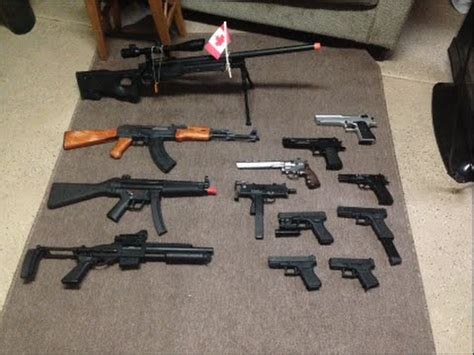 Huge Airsoft Gun Collection! GBB's AEG's & Spring Powered