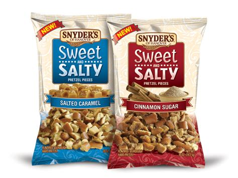 News: Snyder's of Hanover - New Sweet and Salty Pretzel
