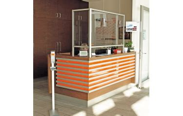 MiniTec - Personnel Protection Screen protects customer