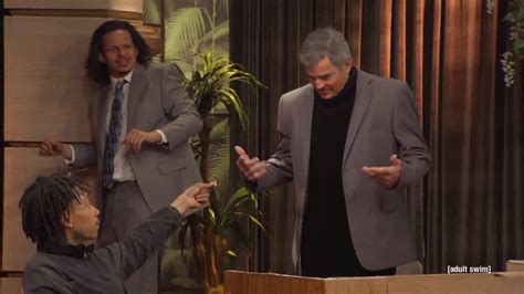 George Clooney on The Eric Andre Show ft
