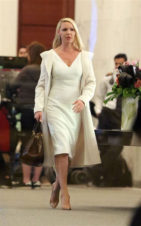 KATHERINE HEIGL on the Set of Suits in Toronto 04/29/2018