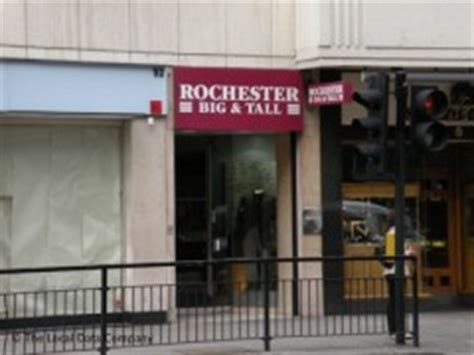 Rochester Big & Tall Clothing, 90 Brompton Road, London