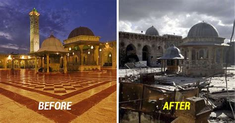 10 Disturbing Before-And-After Images Of Syria That Show