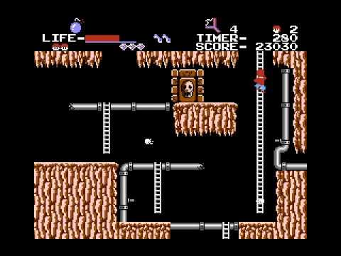 Tinkidink Plays The Goonies 2 (NES) Part 2 - YouTube