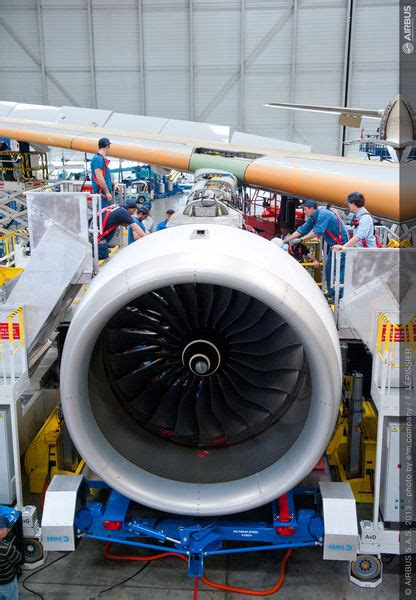 A350 Watch: MSN1 gets engines - Economy Class & Beyond