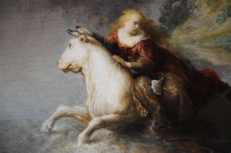 The Abduction of Europa - Rembrandt Harmensz