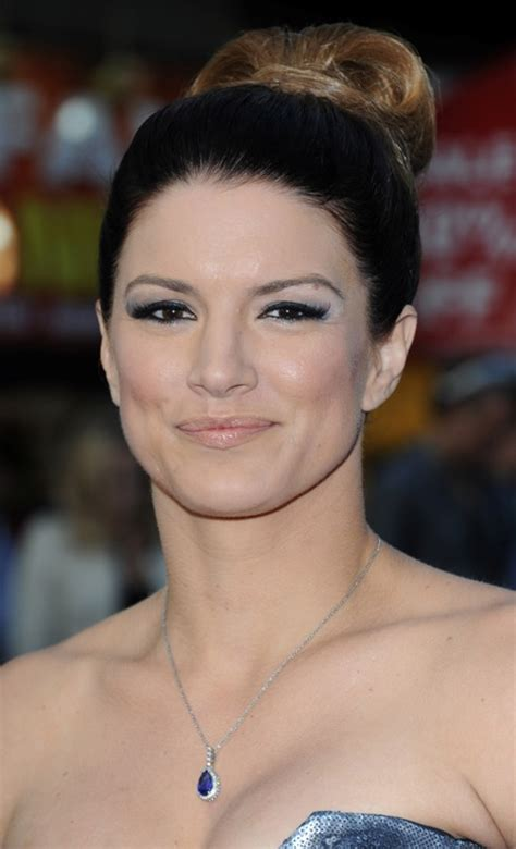 Gina Carano and Henry Cavill at Fast & Furious 6 premiere