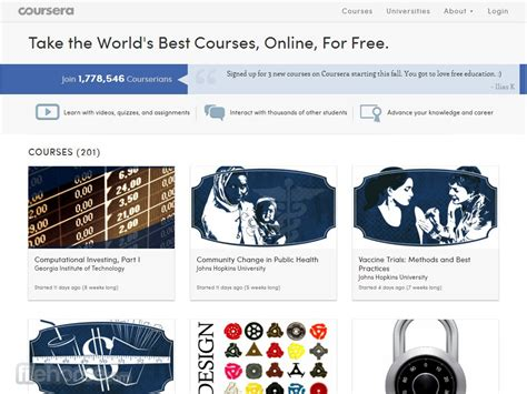 Coursera - Take the World`s Best Courses, Online and For