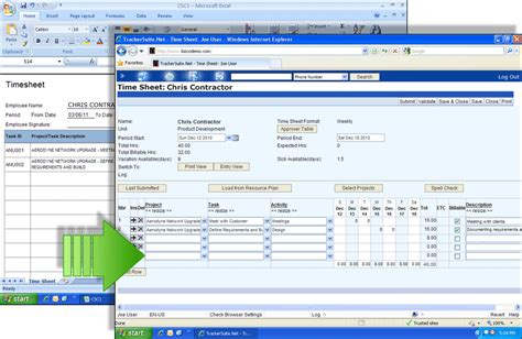 Contractor Timesheets, Managing Timesheets for Contractors