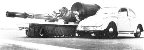 General Electric GAU-8/A Avenger 30 MM cannon for A-10 War