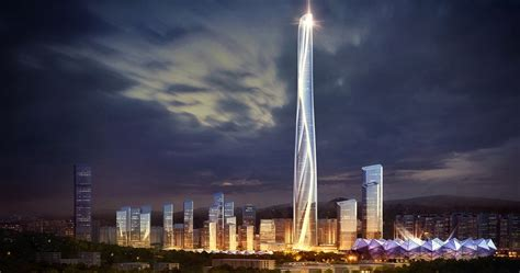 china's tallest building: AS+GG reveals plans for 700
