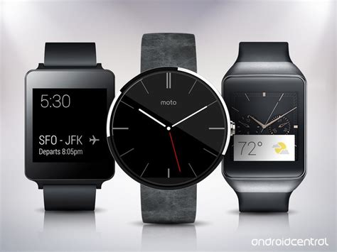 These are the best Android Wear smartwatches   Android Central