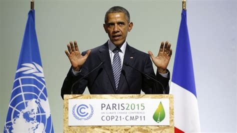 Obama calls Paris climate pact 'best chance' to save the