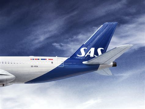 SAS Reveals New Livery - First Change In 21 Years