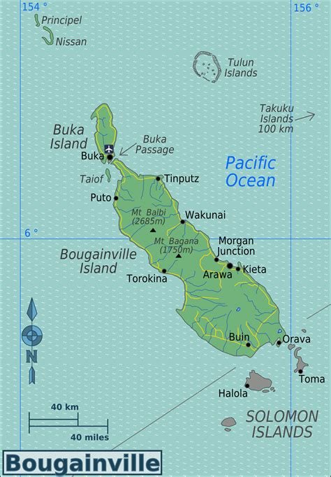 Bougainville – Travel guide at Wikivoyage