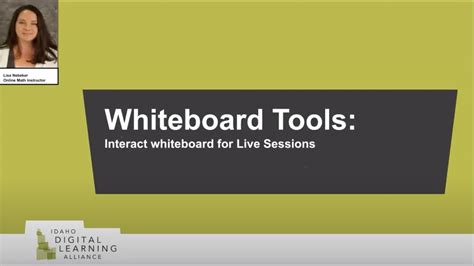 Whiteboard Tools: Interactive Whiteboards for Live