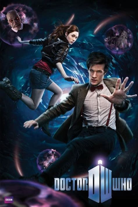 Doctor Who posters - Dr Who Matt Smith & Amy Pond Vortex