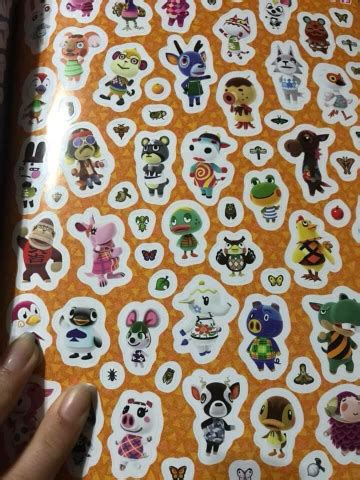 Animal Crossing Official Sticker Book releases today with