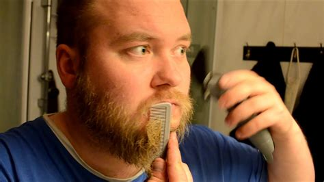 Styling my beard to the shape of ragnar lothbrok
