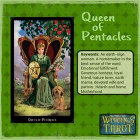 Queen of Pentacles by http://paintedonmysoul
