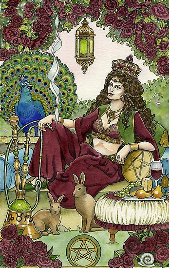 """""""Queen of Pentacles"""" by WinonaCookie   Redbubble"""