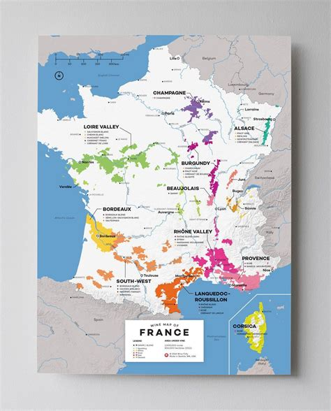 France Wine Map | Wine folly, Wine poster, French wine