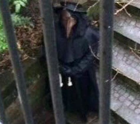 Footage Shows Creepy 'Plague Doctor' Stalking The Streets