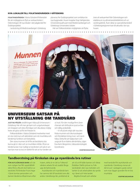 Tandsköterskan nr 2 2016 by Content Avenue AB - Issuu