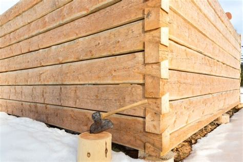 Stonehouse Woodworks | For Sale | Hand Hewn Dovetail Log Shell