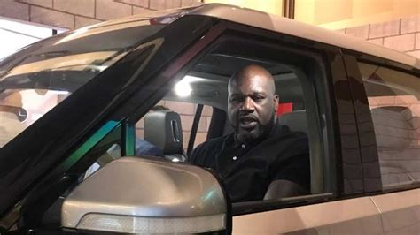 """Retired NBA Star Shaquille O'Neal """"Shaq"""" Rides In A Rivian"""