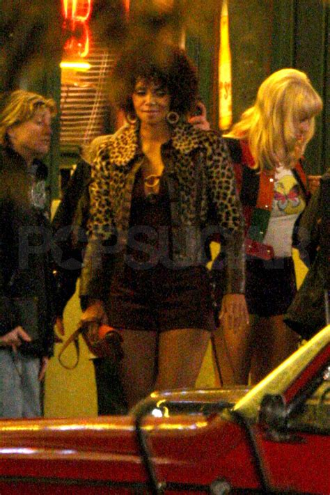 Photos of Halle Berry on Set of Frankie and Alice in