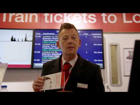 Stansted Airport bendy buses — Park & Ride - YouTube