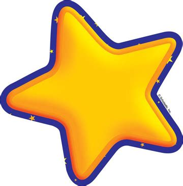 Gold Star   Printable Clip Art and Images