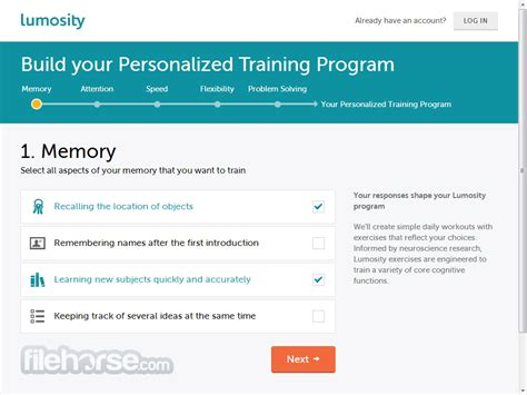 Lumosity - Improve your brain performance and live a