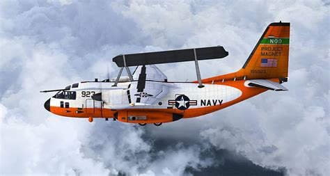 US Navy Project Magnet EC-27J Spartan for FSX
