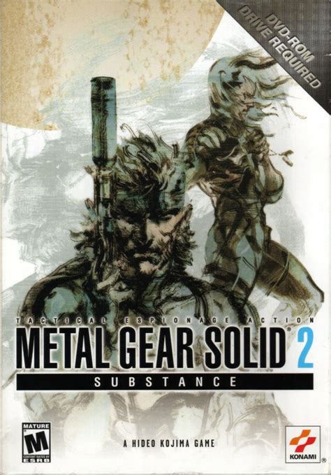 Metal Gear Solid 2: Substance for Windows (2003) - MobyGames