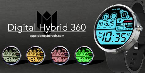 GUIDE: The Best Moto 360 Watch Faces with Download links