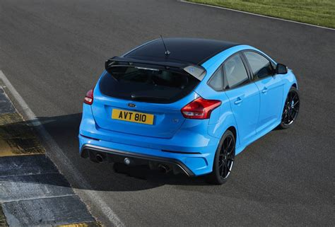 2017 Ford Focus RS Limited Edition for Australia, adds