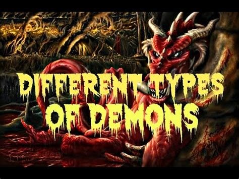 Different Kinds Of Demons & Spirits That Comes After God's