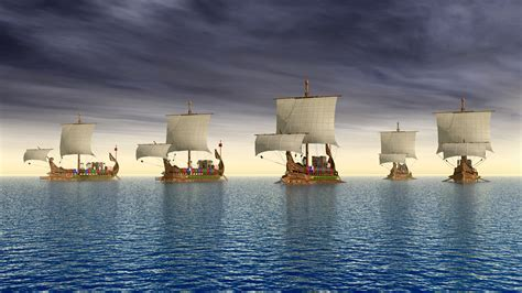 Developing the Athenian Navy of Ancient Greece