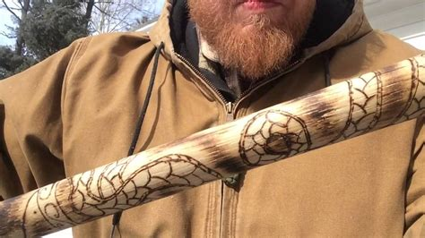 Cold steel Viking hand axe pt 2 - YouTube