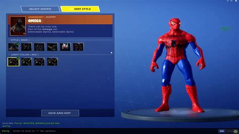 How To Get SpiderMan In FORTNITE **MUST HAVE OMEGA SKIN