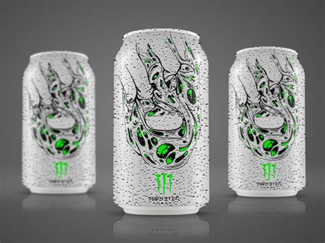 Monster Energy Drink (Concept) on Packaging of the World