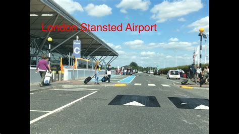 London Stansted Airport pick up & drop off points, - YouTube